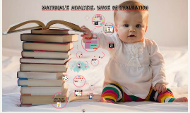 Material's analysis. Ways of evaluation