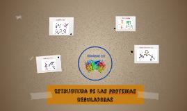 Estrectura de las proteinas reguladoras