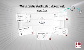 Copy of Manažerské vlastnosti a dovednosti