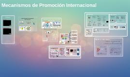 Mecanismos de Promoción Internacional