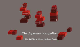 The Japanese occupation