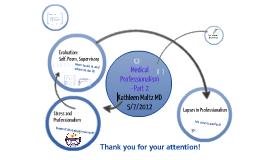 Medical Professionalism - Part 2