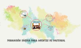 Formación básica para agentes de pastoral
