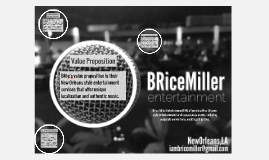 Brice Miller Entertainment [BM:e] provides New Orleans-style