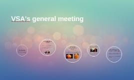 VSA's general meeting