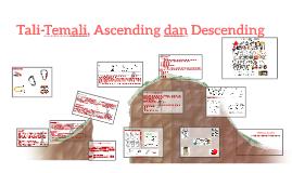 Tali-Temali, Ascending dan Descending
