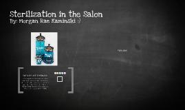 Copy of Sterilization in the Salon
