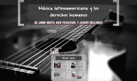 Música latinoamericana y los derechos humanos