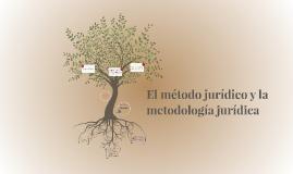Copy of El método jurídico y la metodología jurídica