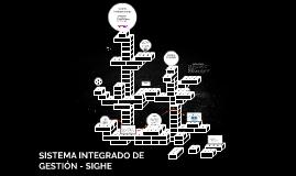 SISTEMA INTEGRADO DE GESTIÓN - SIGHE