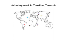 Voluntary work in Tanzania-Zanzibar