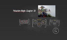 Melachim Aleph: Chapter 20