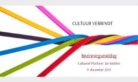 11 december 2015 Cultureel Platform