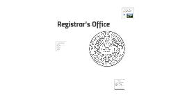 Registrar's Office