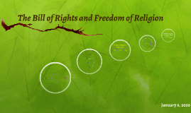 The Bill of Rights and Freedom of Religion