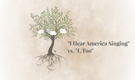 """I Hear America Singing"" vs. ""I, Too"""