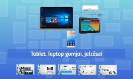 PC, laptop jelzései