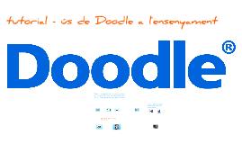 Presentació del Tutorial Doodle Català