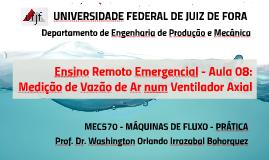 MEC009 - LAB. SISTEMAS FLUIDO MECÂNICOS - AULA 11
