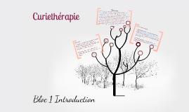 Bloc 1 curiethérapie