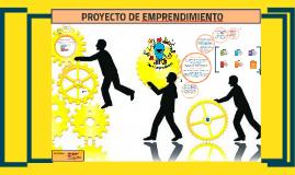 Copy of PROYECTO DE EMPRENDIMIENTO