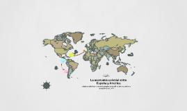 La economía colonial entre España y América