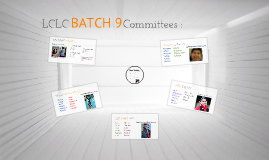 LC Orange Committees