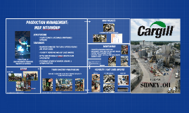 production managment maintenance and reliability internship