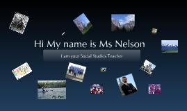 Hi My name is....
