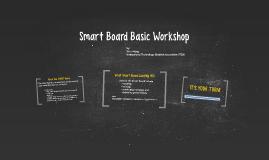 Smart Board Basic Workshop
