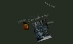 Creativity =Joy