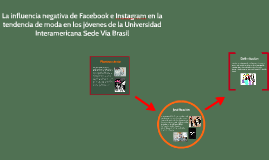 La influencia del facebook en la moda en los jóvenes de la U