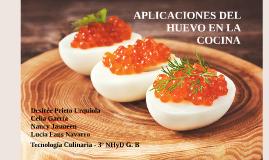 Aplicaciones del huevo en la cocina