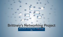 Brittney's Networking Project
