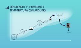 SENSOR DHT11 HUMEDAD Y TEMPERATURA CON ARDUINO