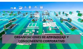 Copy of ORGANIZACIONES DE APRENDIZAJE Y CONOCIMIENTO CORPORATIVO