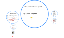 Why you should take spanish