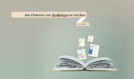 Das Einbetten von Textbelegen im Satzbau