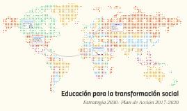 Educación para la transformación social