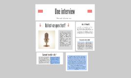 Copy of Interview d'un professionnel