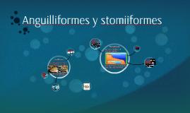 Anguilliformes y stomiiformes