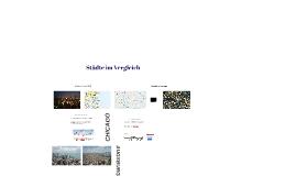 Städte im Vergleich