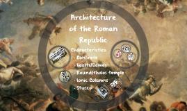 Architecture of Roman Republic
