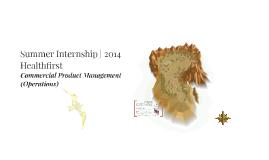 Healthfirst Internship 2014