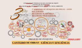 Copy of 3º SIMPÓSIO UFRN - PROJETO DE PESQUISA