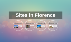 Sites in Florence