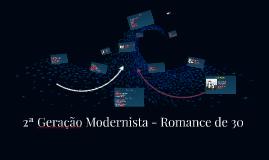 2ª Geração Modernista - Prosa - Geração de 30