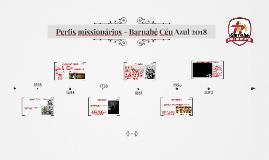 Perfis Missionários - BNB 2018