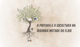 A PINTURA E A ESCULTURA NA SEGUNDA METADE DO S.XIX
