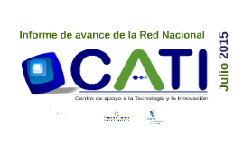 Copy of Informe avance CATI Colombia  jul2015